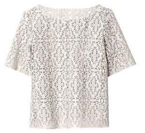 BNWT ZARA WOMAN LASER CUT TOP SIZE SMALL | eBay