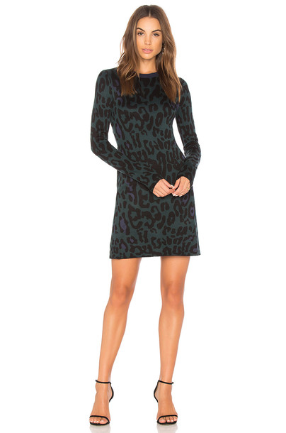 John & Jenn by Line dress sweater dress dark green