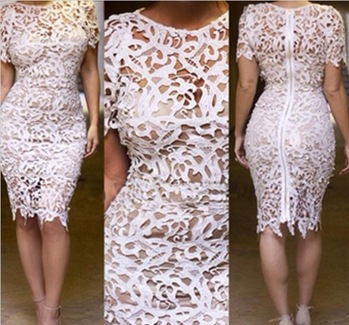 Aliexpress.com : Buy Summer Dress 2014 Women Summer Dress Bandage Bodycon Celebrity Style Women's Vintage Floral Crochet Boho Pencil Dress from Reliable dress lips suppliers on Shenzhen MircoDragon Technology co., Ltd