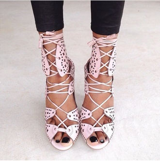 shoes braid highheels fashion style summer shoes