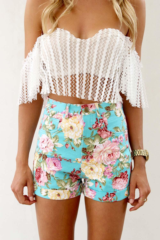 Sabo skirt  picturesque denim shorts
