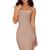 fishtail bandage dress