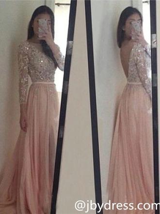 dress silver glitter pink