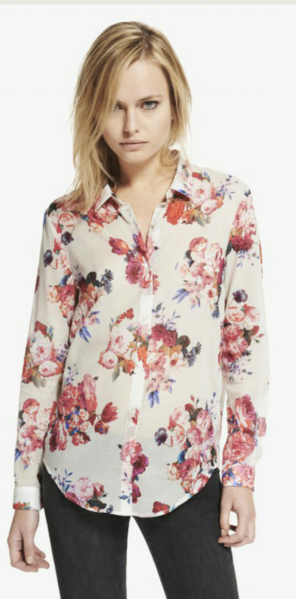 Shirt: matt healy, blouse, the 1975, matty healy, floral ...
