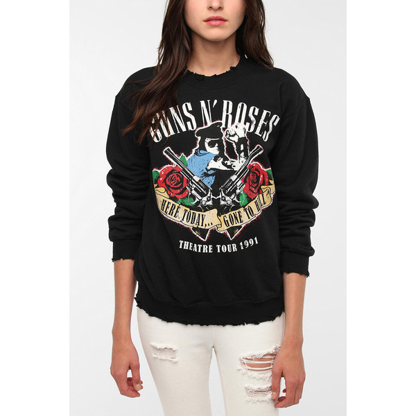 Guns 'N Roses Rock Band Sweatshirt - Polyvore
