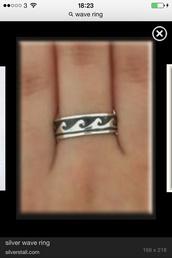 jewels,wave ring,boho