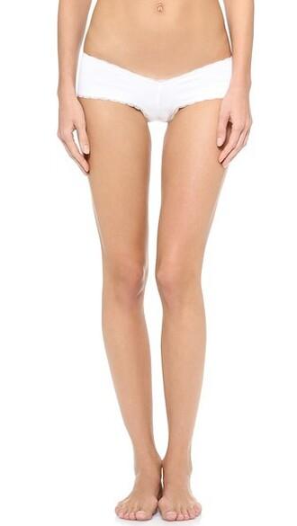 panties cheeky blanc underwear