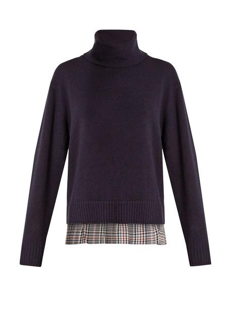 Joseph sweater wool navy