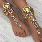 jewels,ankle bracelet,jewelry,feet,foot,gorgeous,beautiful,crystal,diamonds,gold,gold chain,anklet,accessories,feet bracelet