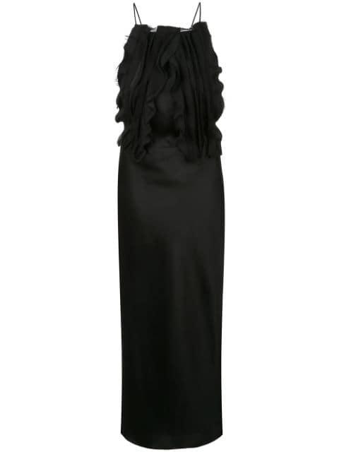 Jason Wu Collection Ruffled Front Dress - Farfetch