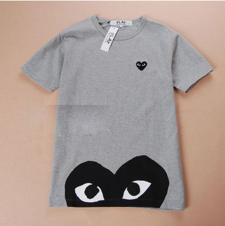 a3ec127f151 COMME Des GARCONS CDG PLAY RED HEART EYES MENS ...