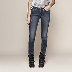 Jean slim femme IKKS (BC29285) | Vêtement Femme Hiver 13