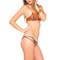 Luli fama wanderlust criss cross bikini top