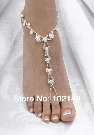 sexy rhinestone barefoot sandals 1aaac2a4b2db