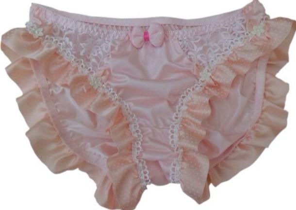 Underwear Frill Ruffle Frilly Kawaii Cute Panties