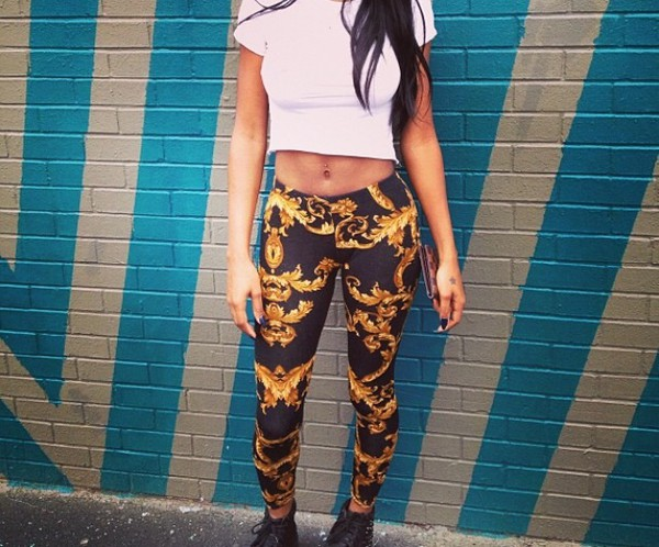 leggings tights pattern