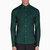 mcq alexander mcqueen green monogrammed shirt