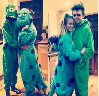 pajamas monsters inc