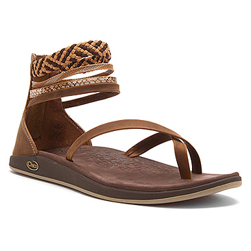 Sandals. Womens Chaco Local Ecotread Sandal (Chocolate Brown