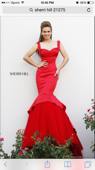dress sherri hill prom dress