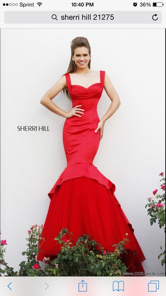 dress sherri hill prom dress