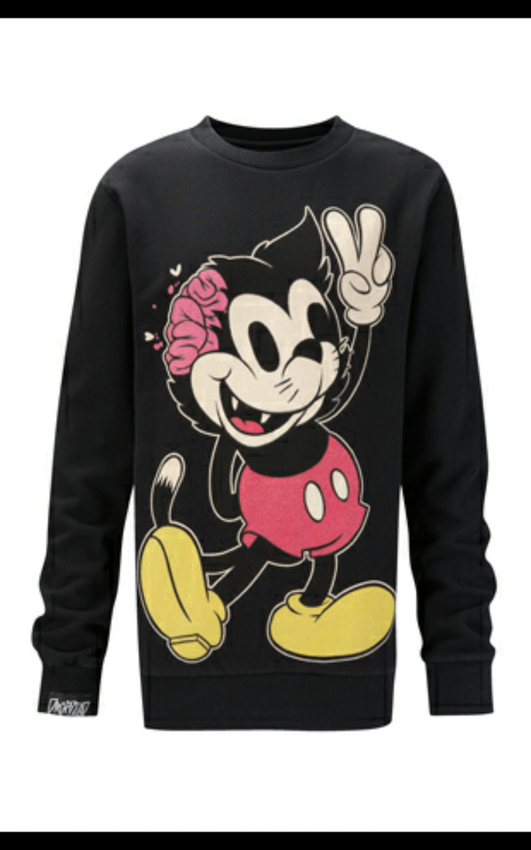 Dead Mickey Mouse Shirt January 2017