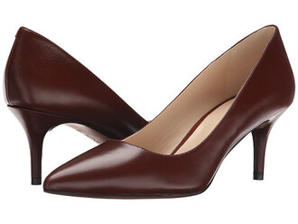 shoes chocolate pumps