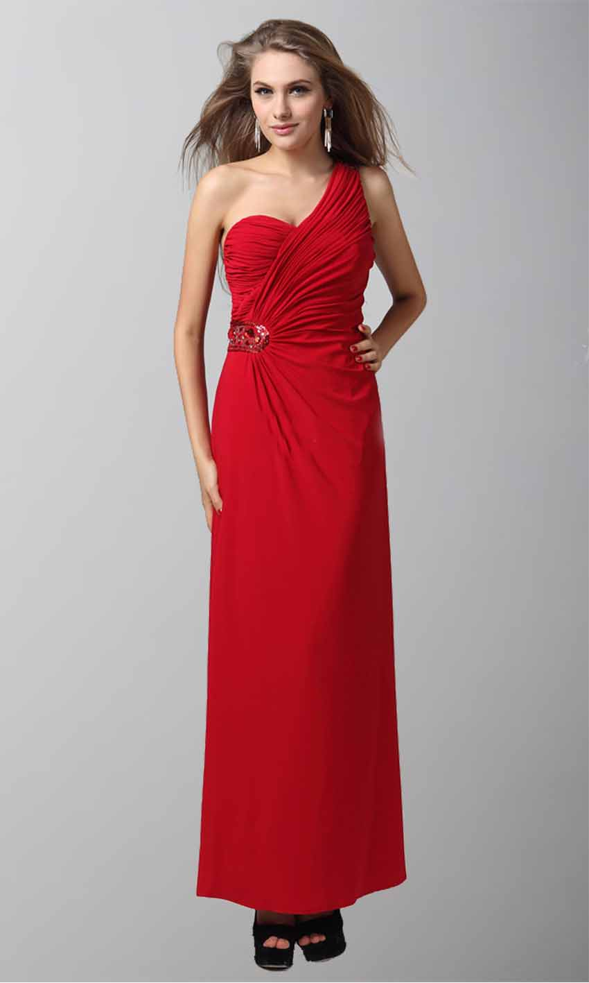 Brilliant Red One Shoulder Plicated Sequined Prom Dress KSP046 [KSP046] - £98.00 : Cheap Prom Dresses Uk, Bridesmaid Dresses, 2014 Prom & Evening Dresses, Look for cheap elegant prom dresses 2014, cocktail gowns, or dresses for special occasions? kissprom.co.uk offers various bridesmaid dresses, evening dress, free shipping to UK etc.