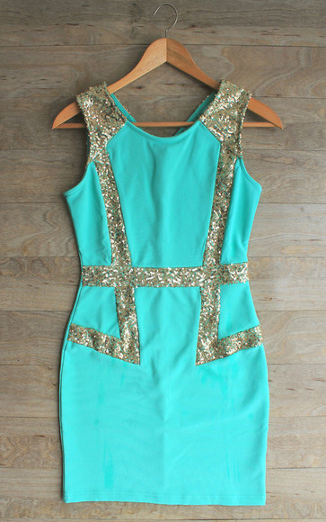 dress prom dress 2014 prom dresses sequin dress mint dress mint prom dress sequin party dress sequin dress, sleeveless dress, prom dress, party dress,