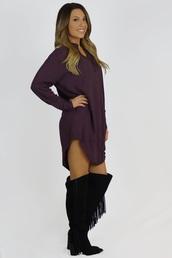 blouse,oversized,purple,long sleeves,trendy,fashion,style,dress,casual,free vibrationz