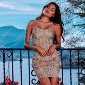 dress,holt miami,holt dress,dress in gold,painted dress,sexy dress,summer dress,bachelorette dress,birthday dress,party dress,holt