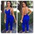 Cute blue elegant jumpsuit / wantde