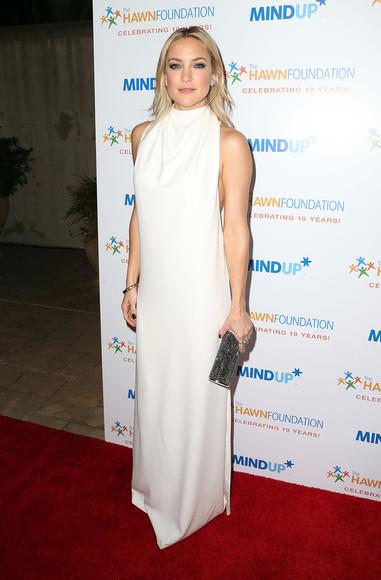 maxi dress dress white dress kate hudson