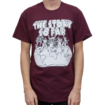Cartoon | T-Shirt • The Official EU/UK Webstore for The Story So Far :: Powered By Kings Road Merch Europe