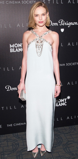 kate bosworth oscar de la renta clutch