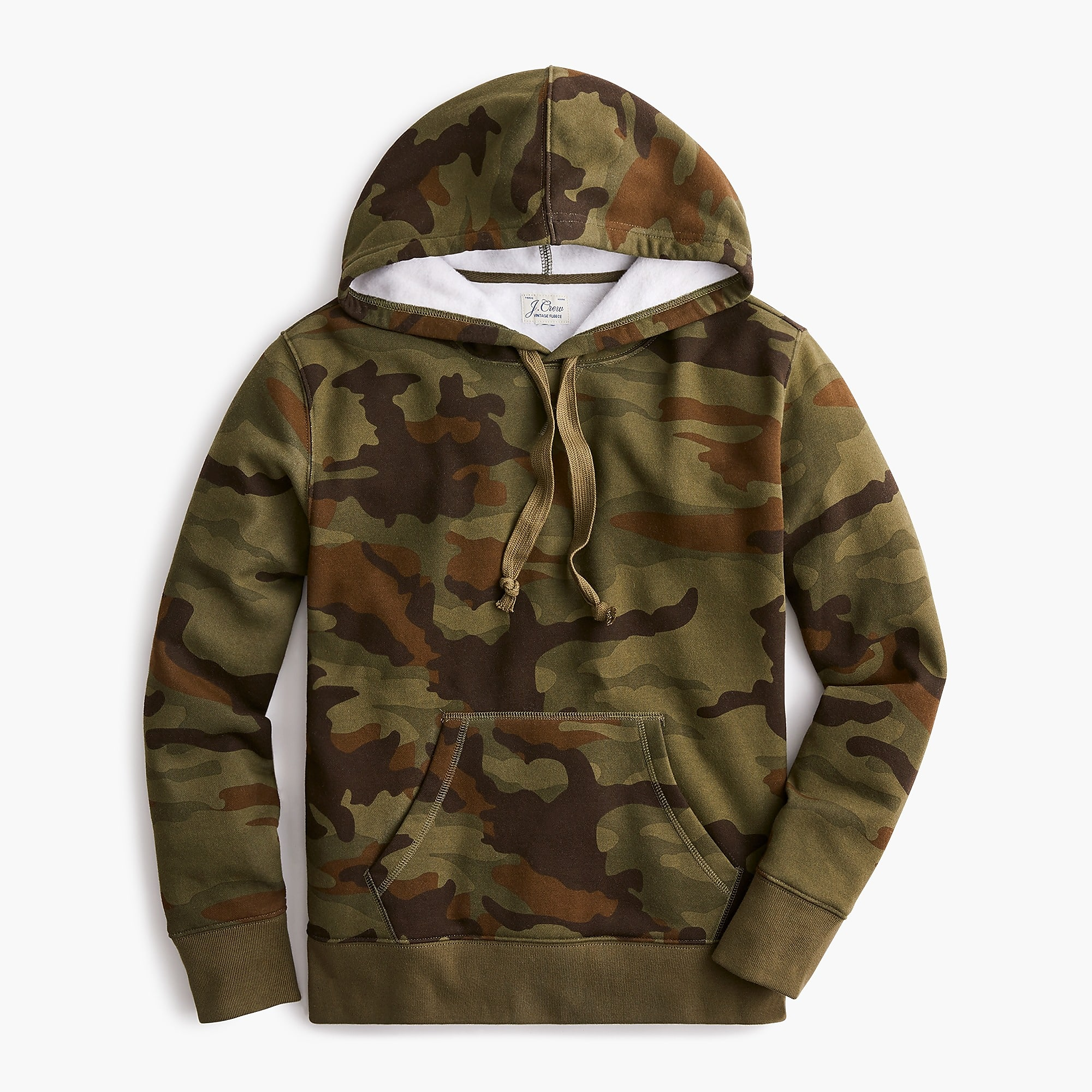 Supercozy fleece hoodie sweatshirt in camo