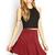 Seam-Stitched Skater Skirt | FOREVER21 - 2000068196