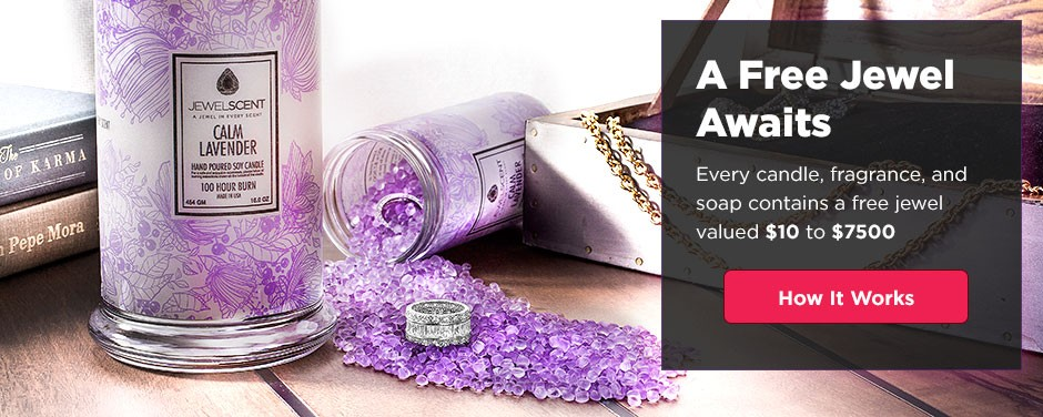 A Surprise Jewelry Gift in Every Candle, Bead & Soap | JewelScent