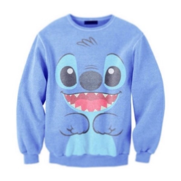 sweater lilo and stitch bag