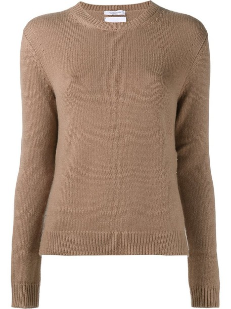 Valentino sweater women nude camel