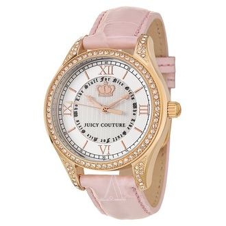 jewels pink and white juicy couture