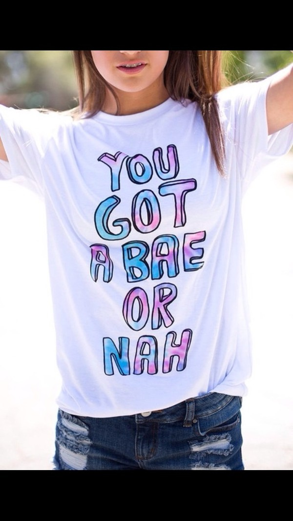 You Got A Bae Or Nah Unisex Tank Top By Sweetteesnow On Etsy