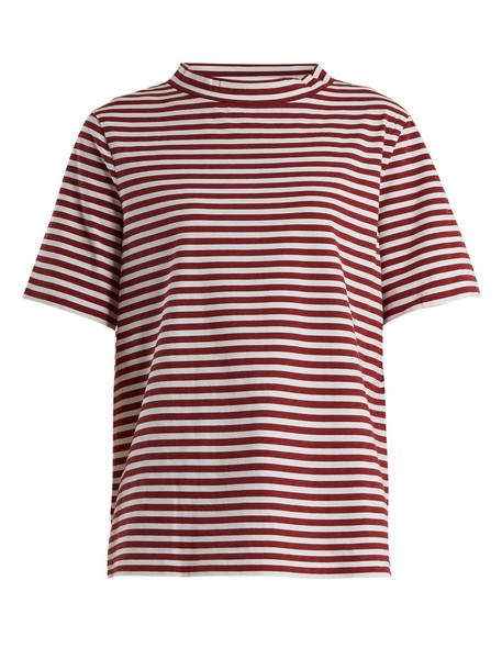 M.i.h Jeans t-shirt shirt t-shirt cotton red top
