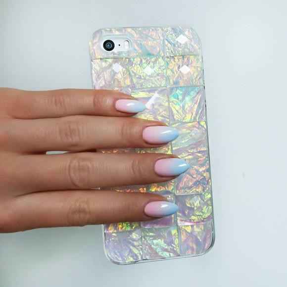 shiny opal phone case bling