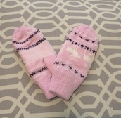 gloves,biology boutique,biologyboutique,mittens,cute,pink,pink mittens,Pink gloves,cold weather accessories,cold weather jacket