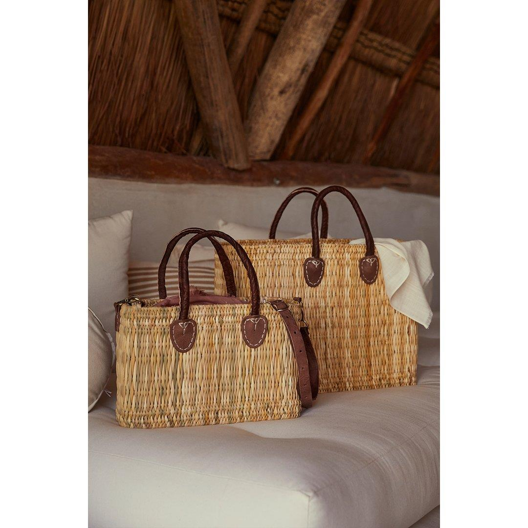 Lake Como Mini Woven Bag