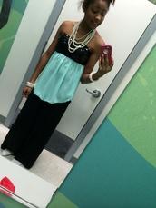 pants,pearl,black,black sequin,teal,wide-leg pants,blouse