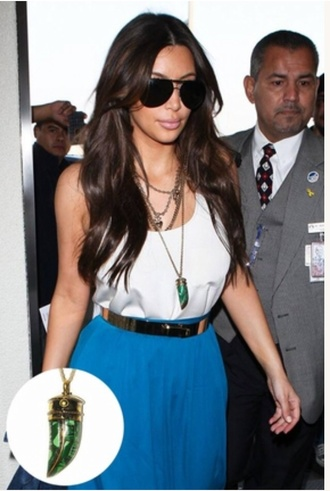 belt gold kim kardashian pretty fashion