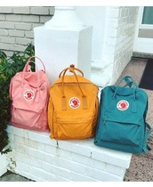 bag,girly,girly wishlist,backpack,fjallraven kanken,Fjallraven