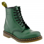 Dr Martens Green 1460 8 Eyelet Leather Boot - Dr Martens from Caves UK